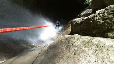 Canyoning autour d'Annecy