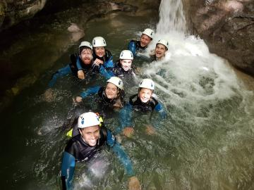 canyoning super cool