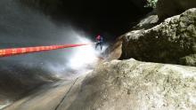 cascade d'Angon le grand rappel