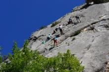 guide du grand Bornand escalade Buis Les Baronnies