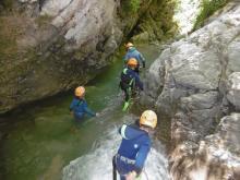 Canyoning autour d'Annecy - Bureau des Guides de Thônes