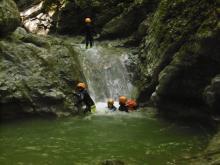La Canyon de Montmin - Bureau des Guides de Thônes
