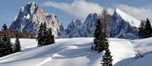 Splendides faces rocheuses des Dolomites