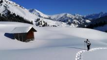 Sortie raquettes à neige _ Haute-Savoie