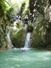 Canyoning en Haute- Savoie