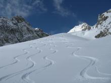 Ski hors piste- Haute-Savoie