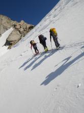 Ski de randonnée_ Géant des Alpes
