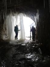 Cascade de glace_Haute-Savoie_ Thones