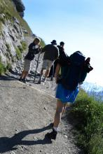 Randonnée en moyenne montagne en Haute-Savoie