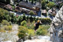 via ferrata de Thones
