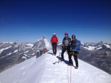 Le sommet du Breithorn.