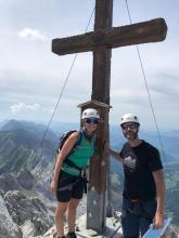 Au sommet de la Pointe Percée (2750 m)