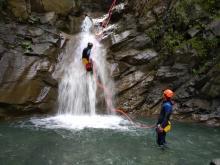 Le plaisir de l'eau et des cascades