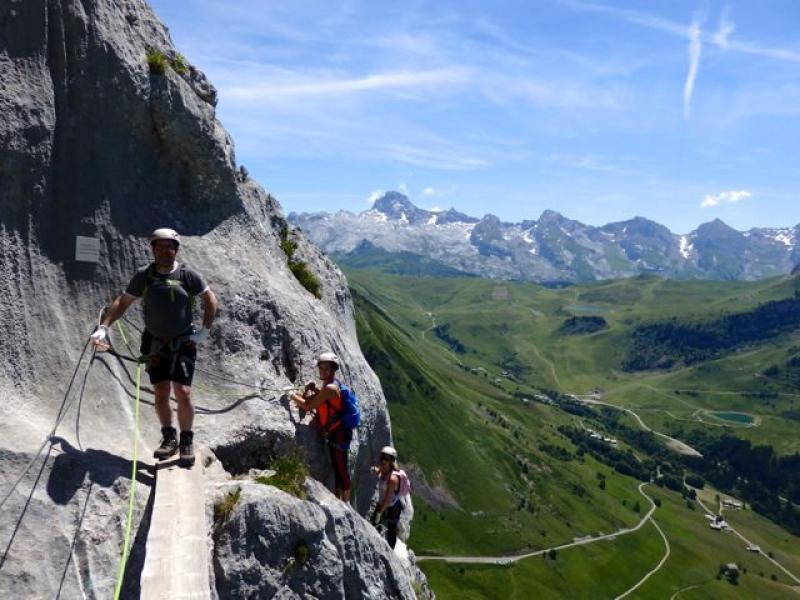 Via Ferrata du Jalouvre au Grand Bornand